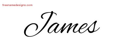 james tattoo font james archives free name designs
