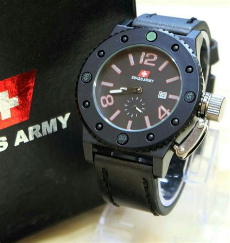 Aigner A Detik Bawah ginda collection new jam tangan sa leather detik bawah