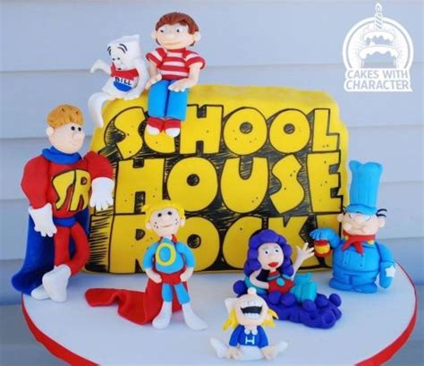 school house rock schoolhouse rock cake by jean a schapowal cakesdecor