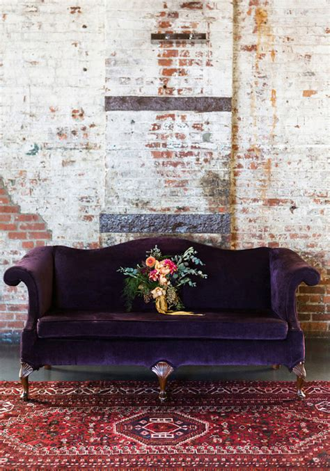 purple velvet couch vintage 12 royally purple velvet sofas for the living room
