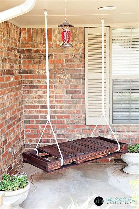 diy wood swing diy pallet swing simple and easy way to craft up your own