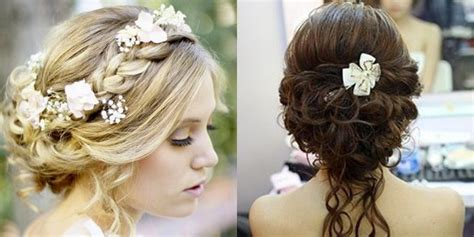 Garden Wedding Hairstyles For Guests by 17 Best Images About Wedding Hair On Bridal