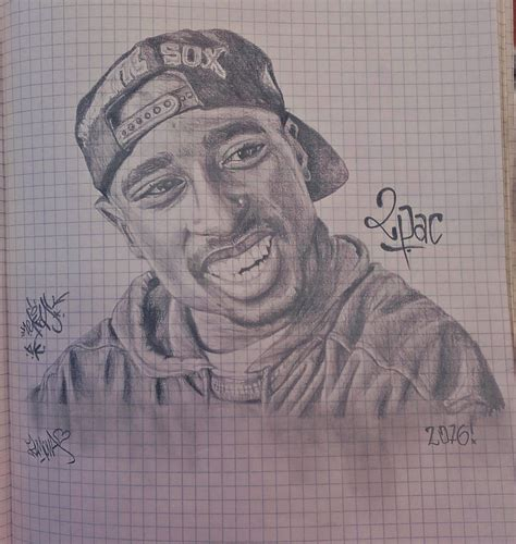 2pac Sketches by Sketch 2pac By Nekasviens On Deviantart