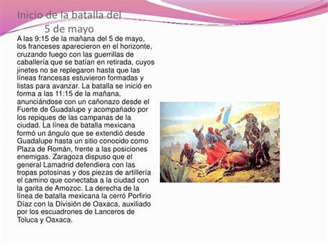 Resumen 5 De Mayo by 5 De Mayo La Batalla De Puebla