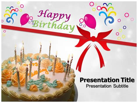 Happy Birthday Powerpoint Templates Happy Birthday Ppt Templates Happy Birthday Powerpoint Birthday Powerpoint Presentation