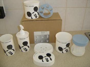 mickey bathroom set mickey mouse bathroom set 5 pieces kids bathroom sets
