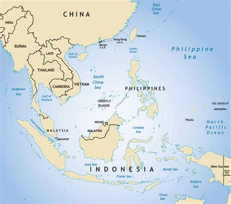 east asian countries map war news updates concerned about china southeast asian