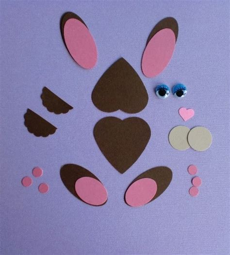 Paper Punch Craft Ideas - hippity hoppity paper punch bunny think crafts by