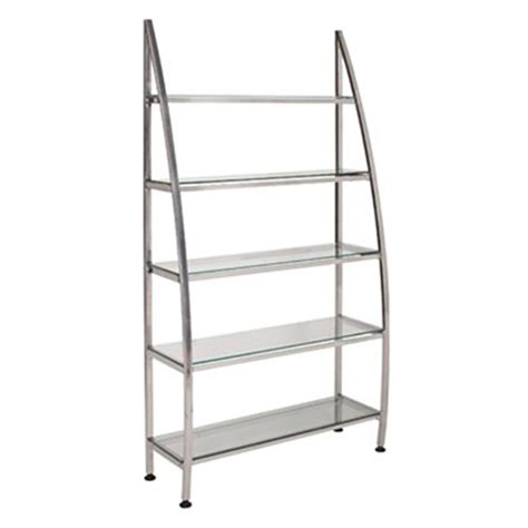 salon shelving silver salon retail display salonsmart