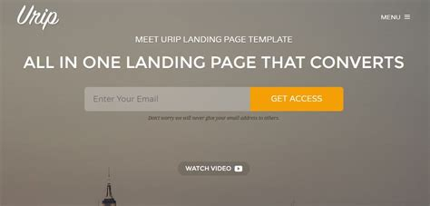 Single Urip landing pages how to set one up theme junkie
