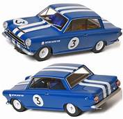 Scalextric C3210 Ford Lotus Cortina Blue C