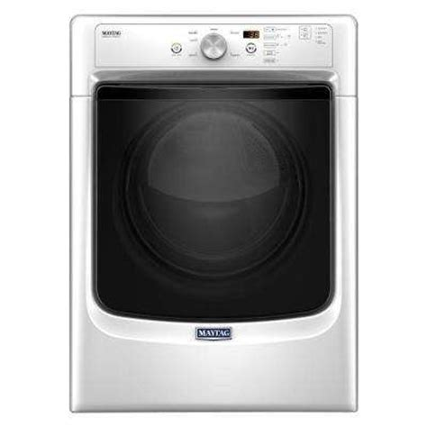 maytag clothes dryers at appliance store