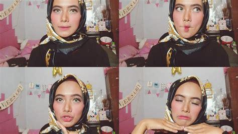 Tutorial Makeup Fathi Nrm | tutorial makeup blush on gemas ala fathi nrm yaniazer
