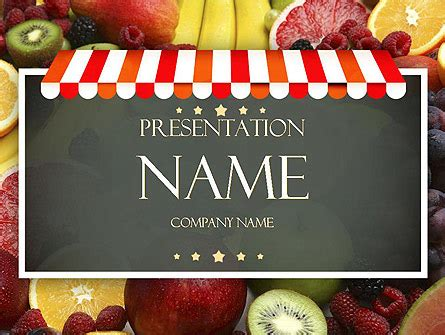 layout supermarket ppt grocery store presentation template for powerpoint and