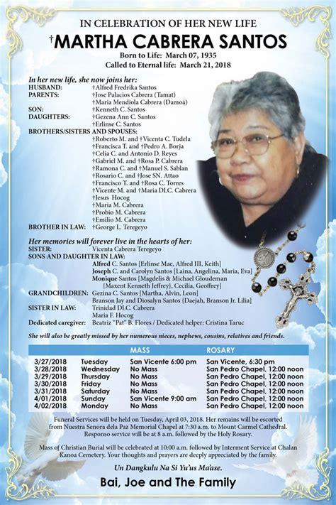 The Obituary obituaries saipan tribune
