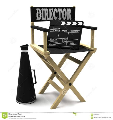 movie director chair clip art image gallery movie megaphone