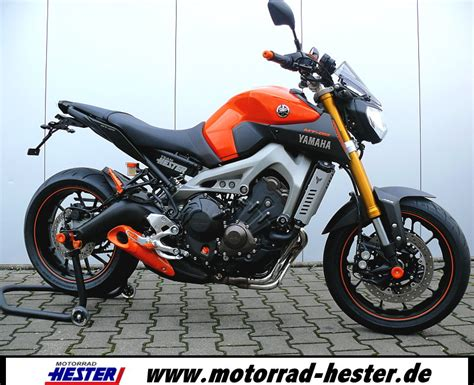 Motorrad Tuning Yamaha Hester by Mt 09 Hester Orange