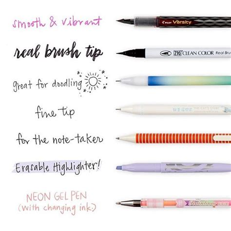 best colored pens for notes it s a pen pop up if there s one thing we planners