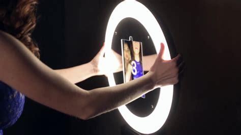 Mobibooth 174 Aura Ring Light Ipad Photo Booth Kiosks Youtube