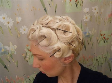 what year was pin curls pin curls 1930s and 1940s hairstyles my style classic