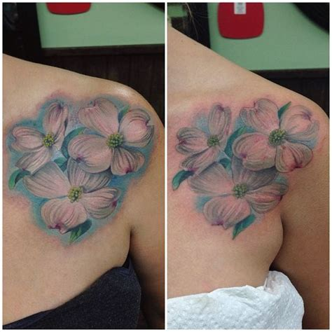 dogwood flower tattoo 90 dogwood flower designs and meaning