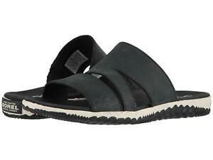 Sorel Out N About Sandals by Sorel Out N About Plus Slide Black S Slipper Shoes Ebay