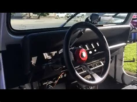 custom jeep steering wheel custom steering wheel mount 95 yj
