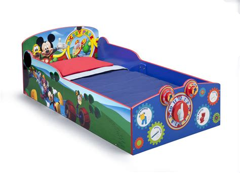 kmart toddler bed delta children mickey mouse interactive wood toddler bed