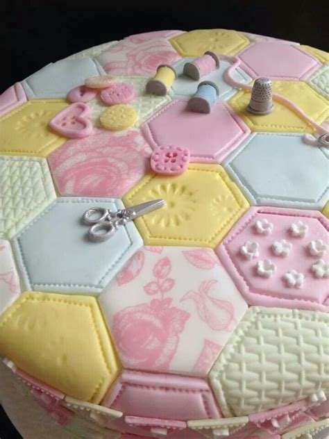 Patchwork Cake - 180 best images about sewing on