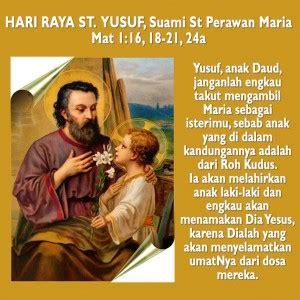 Renungan Iman Dalam Surat Yusuf santo yusuf teladan iman kesetiaan dan ketulusan hati