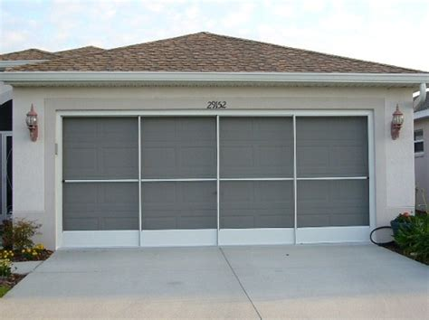 Sliding Garage Door Screen Kits Sliding Garage Door Screen The Usage Of Kits