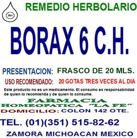 sales de borax borax