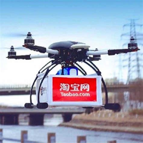 alibaba drone alibaba test ook bezorgen via drones