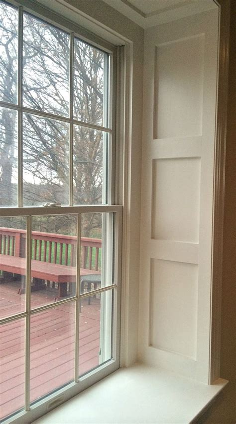 Wainscoting Around Windows 25 B 228 Sta Window Sill Id 233 Erna P 229 Inreda Sm 229