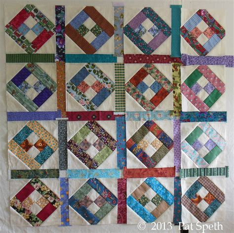 Sashing A Quilt by Sashing Nickelquilts