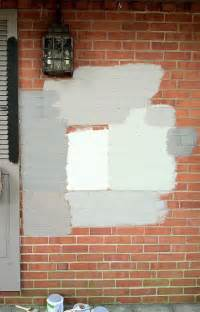 best colors for painting outdoor brick walls 25 best ideas about painted brick exteriors on