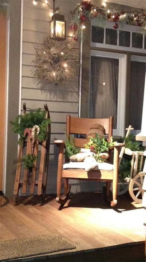 cool decorating ideas for christmas front porch the xerxes