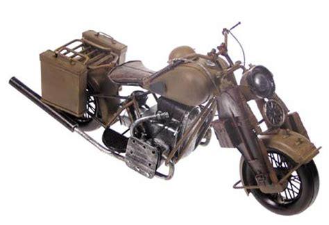 Bundeswehr Motorrad Kaufen by Army Shop Motorrad Dekomodell Metall