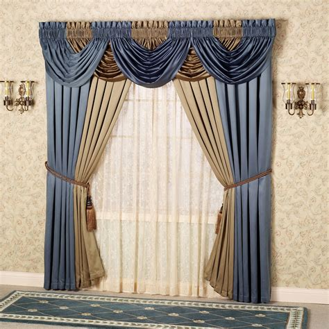 cascade valance curtain color classics r window treatments