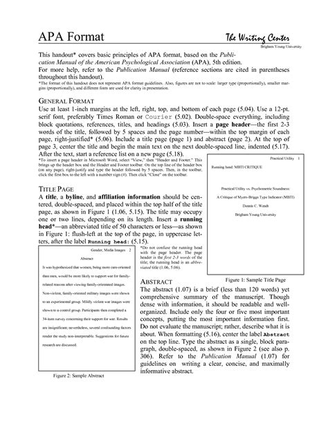 apa format journal article exle writing journal article reviews