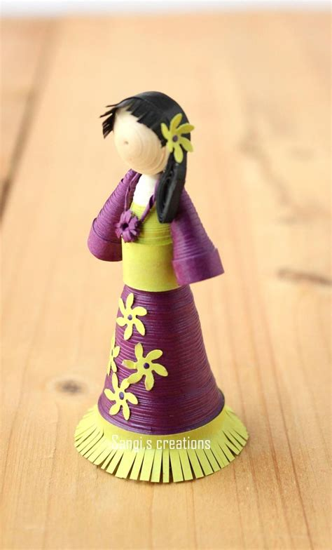 Quilling Tutorial Doll | 1000 images about quilling 3d people clowns childrens