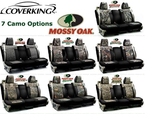 camo neoprene seat covers ford f 150 coverking mossy oak custom seat covers for ford f 150 f