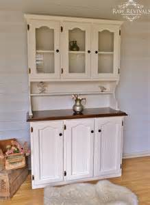 french provincial country buffet and hutch white and