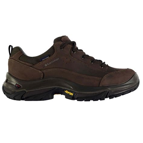 sports direct walking shoes karrimor karrimor brecon low mens walking shoes mens