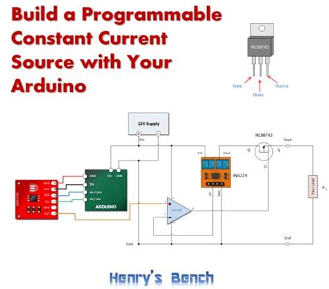 resistor programmable current source 17 best images about arduino on 16 bit arduino and output device