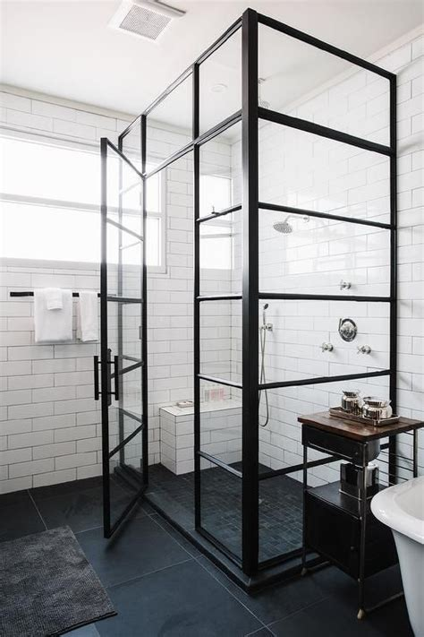modern industrial bathroom best 25 industrial showers ideas on