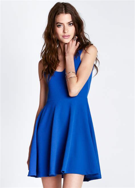 Dress Model blue dress models