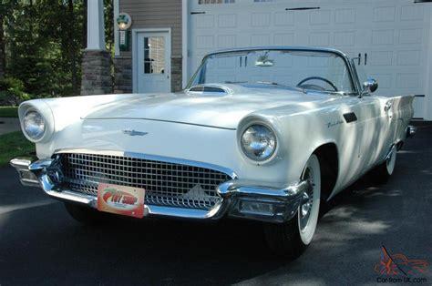 1957 ford thunderbird hard top convertible classic