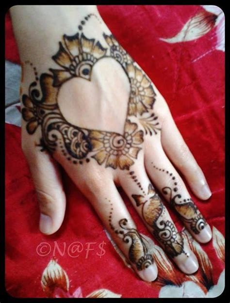 simple mehndi designs for girls 005 life n fashion