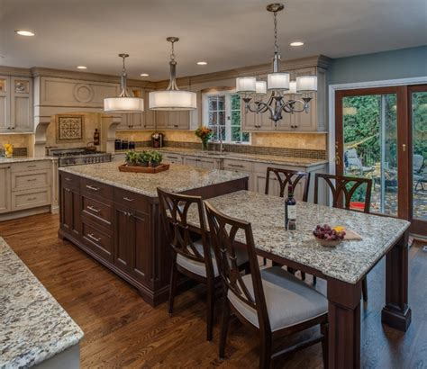 eat in island kitchen eat in kitchen large island traditional kitchen other metro by emery design woodwork